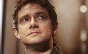 Martin Freeman är Bilbo.