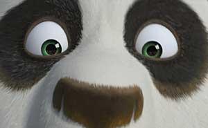 """Fem uppföljare på gång till """"Kung Fu Panda"""". Bild från video"""