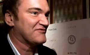 Tarantino grillad. Bild från video