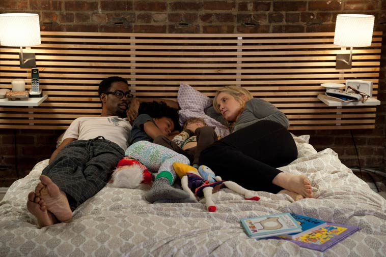 "Chris Rock och Julie Delpy i ""2 dagar i New York"". Foto: Rezo Films"
