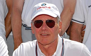 Harrison Ford under U.S America's cup 2009. Foto: Port of San Diego/flickr (CC BY 2.0)