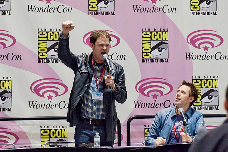 Rainn Wilson under WonderCon i San Francisco förra året. Foto: randychiu/flickr (CC BY 2.0) (CC BY 2.0)