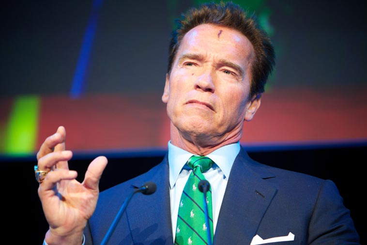Arnold Schwarzenegger under Zerokonferansen i november 2011. Foto: Eirik Helland Urke/Zero Emission Resource Organisation/flickr (CC BY 2.0) (CC BY 2.0)